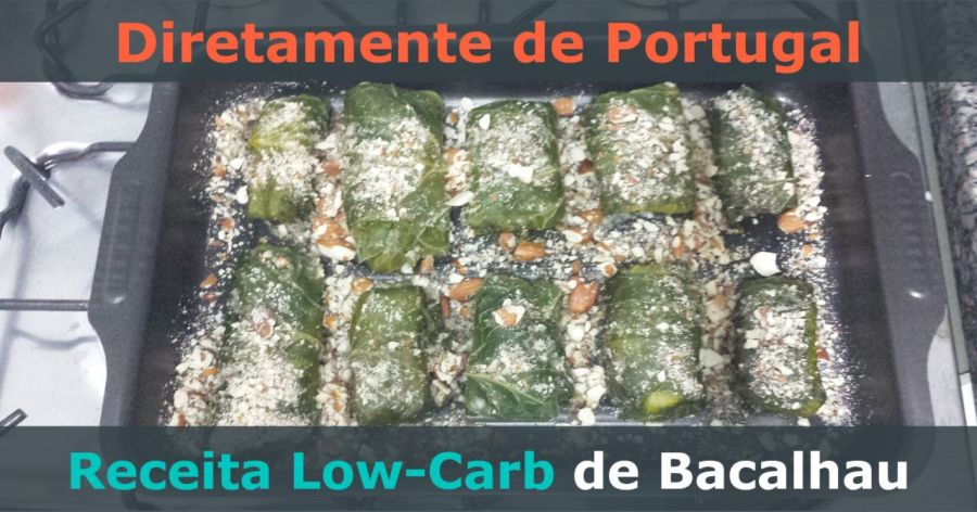 receita de bacalhau low-carb de portugal